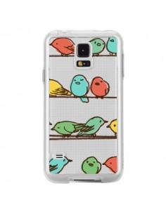 Coque Oiseaux Birds Transparente pour Samsung Galaxy S5 - Eric Fan