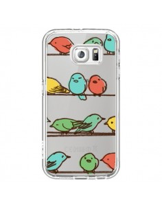 Coque Oiseaux Birds Transparente pour Samsung Galaxy S6 - Eric Fan