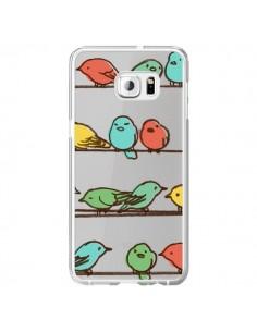 Coque Oiseaux Birds Transparente pour Samsung Galaxy S6 Edge Plus - Eric Fan
