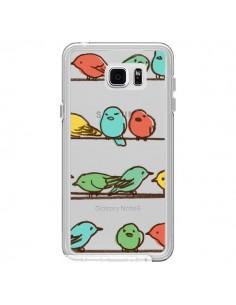 Coque Oiseaux Birds Transparente pour Samsung Galaxy Note 5 - Eric Fan