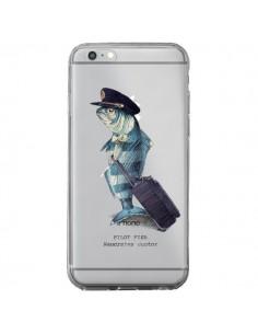 Coque iPhone 6 Plus et 6S Plus Pilot Fish Poisson Pilote Transparente - Eric Fan