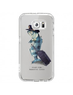 Coque Pilot Fish Poisson Pilote Transparente pour Samsung Galaxy S6 - Eric Fan