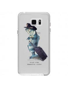 Coque Pilot Fish Poisson Pilote Transparente pour Samsung Galaxy Note 5 - Eric Fan