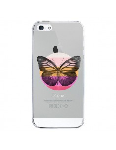 Coque Papillon Butterfly Transparente pour iPhone 5/5S et SE - Eric Fan
