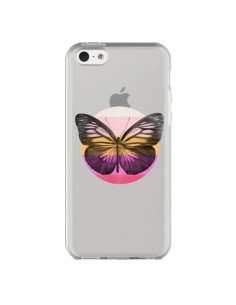 Coque Papillon Butterfly Transparente pour iPhone 5C - Eric Fan