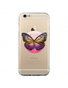 Coque Papillon Butterfly Transparente pour iPhone 6 et 6S - Eric Fan