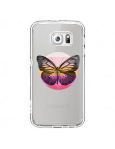 Coque Papillon Butterfly Transparente pour Samsung Galaxy S6 - Eric Fan