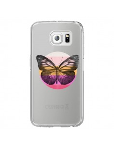 Coque Papillon Butterfly Transparente pour Samsung Galaxy S7 Edge - Eric Fan