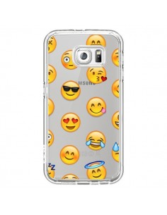 Coque Smiley Emoticone Emoji Transparente pour Samsung Galaxy S7 - Laetitia