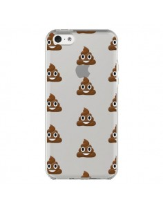 Coque Shit Poop Emoticone Emoji Transparente pour iPhone 5C - Laetitia