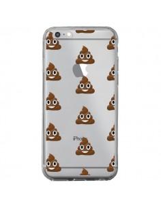 Coque Shit Poop Emoticone Emoji Transparente pour iPhone 6 Plus et 6S Plus - Laetitia