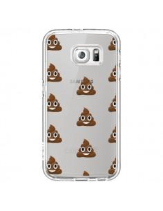 Coque Shit Poop Emoticone Emoji Transparente pour Samsung Galaxy S7 - Laetitia