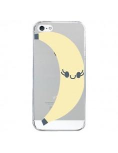 Coque Banana Banane Fruit Transparente pour iPhone 5/5S et SE - Claudia Ramos