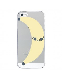 Coque iPhone 5/5S et SE Banana Banane Fruit Transparente - Claudia Ramos