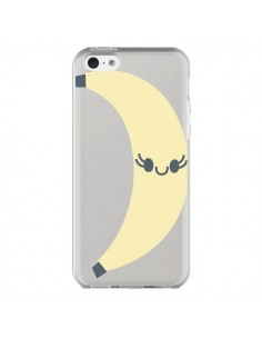 Coque Banana Banane Fruit Transparente pour iPhone 5C - Claudia Ramos
