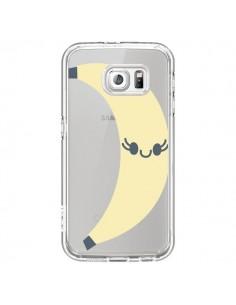Coque Banana Banane Fruit Transparente pour Samsung Galaxy S7 - Claudia Ramos
