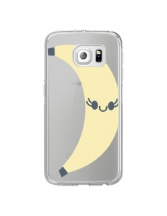 Coque Banana Banane Fruit Transparente pour Samsung Galaxy S7 Edge - Claudia Ramos
