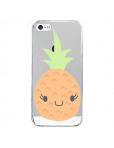Coque Ananas Pineapple Fruit Transparente pour iPhone 5/5S et SE - Claudia Ramos