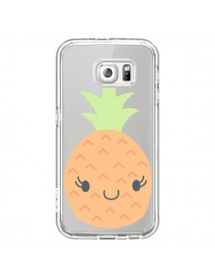 Coque Ananas Pineapple Fruit Transparente pour Samsung Galaxy S7 - Claudia Ramos