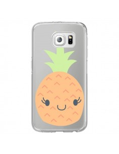 Coque Ananas Pineapple Fruit Transparente pour Samsung Galaxy S7 Edge - Claudia Ramos