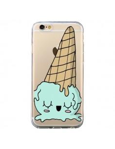 Coque Ice Cream Glace Summer Ete Renverse Transparente pour iPhone 6 et 6S - Claudia Ramos