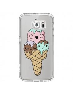 Coque Ice Cream Glace Summer Ete Cerise Transparente pour Samsung Galaxy S7 - Claudia Ramos