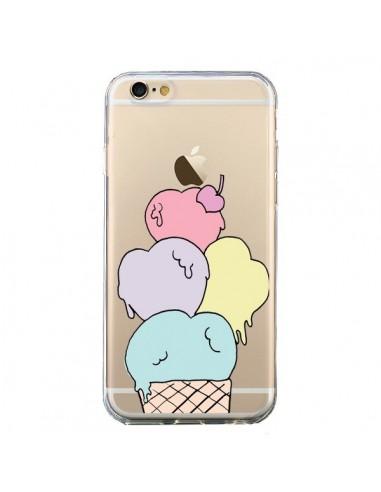 coque iphone 6 et 6s ice cream glace summer ete coeur transparente claudia ramos