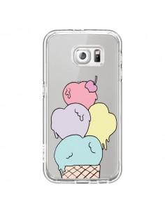 Coque Ice Cream Glace Summer Ete Coeur Transparente pour Samsung Galaxy S7 - Claudia Ramos