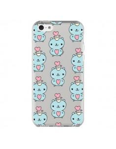 Coque Hamster Love Amour Transparente pour iPhone 5C - Claudia Ramos