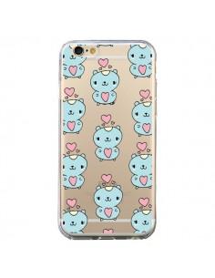 Coque Hamster Love Amour Transparente pour iPhone 6 et 6S - Claudia Ramos