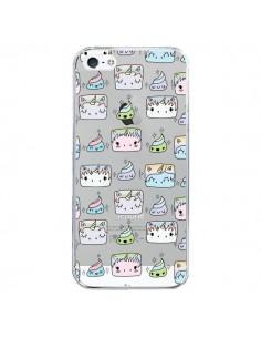 Coque Licorne Unicorn Cute Swag Transparente pour iPhone 5/5S et SE - Claudia Ramos