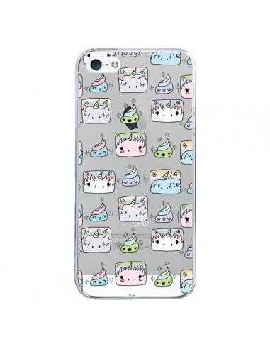 coque iphone 5 5s se licorne unicorn cute swag transparente claudia ramos