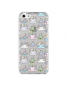 Coque Licorne Unicorn Cute Swag Transparente pour iPhone 5C - Claudia Ramos