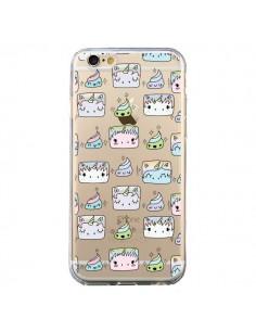Coque Licorne Unicorn Cute Swag Transparente pour iPhone 6 et 6S - Claudia Ramos