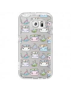 Coque Licorne Unicorn Cute Swag Transparente pour Samsung Galaxy S7 - Claudia Ramos