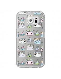 Coque Licorne Unicorn Cute Swag Transparente pour Samsung Galaxy S7 Edge - Claudia Ramos