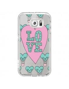 Coque Love Nuage Montgolfier Transparente pour Samsung Galaxy S7 - Claudia Ramos