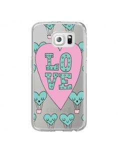 Coque Love Nuage Montgolfier Transparente pour Samsung Galaxy S7 Edge - Claudia Ramos