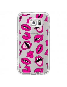 Coque Lèvres Lips Bouche Kiss Transparente pour Samsung Galaxy S7 - Claudia Ramos