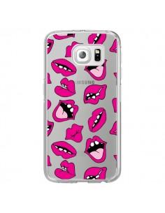 Coque Lèvres Lips Bouche Kiss Transparente pour Samsung Galaxy S7 Edge - Claudia Ramos