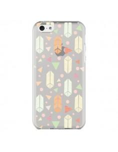 Coque Arrow Fleche Azteque Transparente pour iPhone 5C - Claudia Ramos