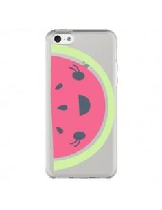 Coque Pasteque Watermelon Fruit Transparente pour iPhone 5C - Claudia Ramos