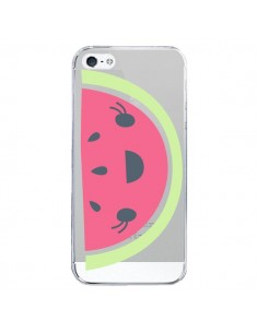Coque Pasteque Watermelon Fruit Transparente pour iPhone 5 et 5S - Claudia Ramos
