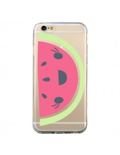 Coque Pasteque Watermelon Fruit Transparente pour iPhone 6 et 6S - Claudia Ramos