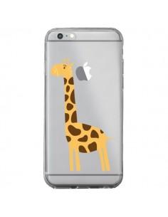 Coque Girafe Giraffe Animal Savane Transparente pour iPhone 6 Plus et 6S Plus - Petit Griffin
