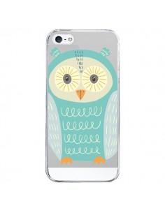 Coque Hibou Owl Transparente pour iPhone 5/5S et SE - Petit Griffin