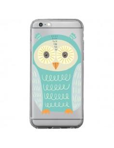 Coque Hibou Owl Transparente pour iPhone 6 Plus et 6S Plus - Petit Griffin