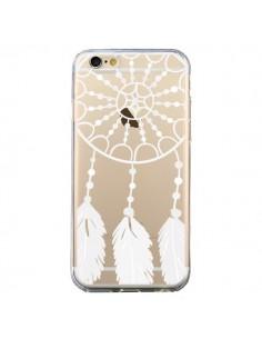 Coque Attrape Rêves Blanc Dreamcatcher Transparente pour iPhone 6 et 6S - Petit Griffin