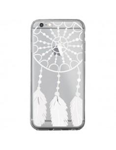 Coque Attrape Rêves Blanc Dreamcatcher Transparente pour iPhone 6 Plus et 6S Plus - Petit Griffin