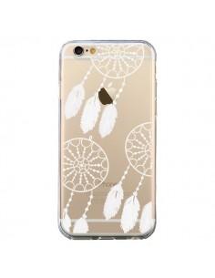 Coque Attrape Rêves Blanc Dreamcatcher Triple Transparente pour iPhone 6 et 6S - Petit Griffin